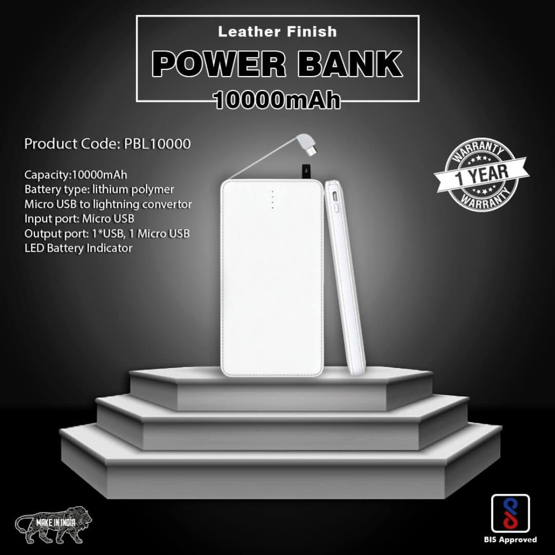 Credit Card Shape 10000mAH Power Bank