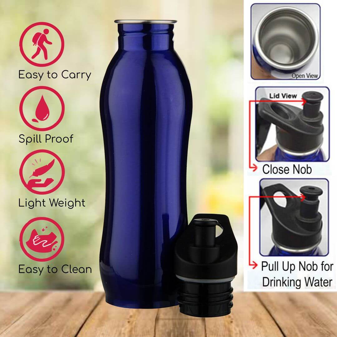 Steel Sipper Water Bottle 117