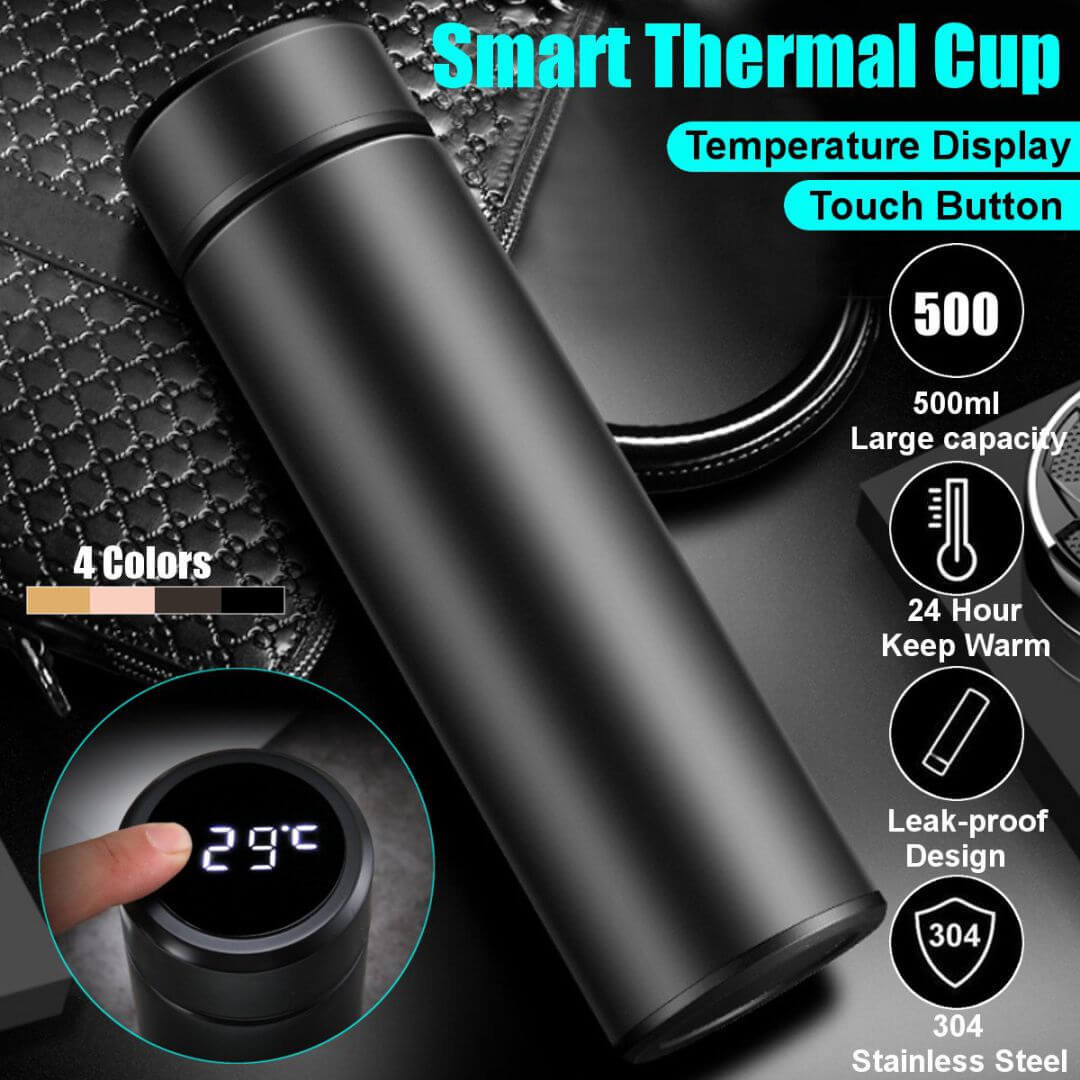 Smart Flask with Temperature Display (500ml)
