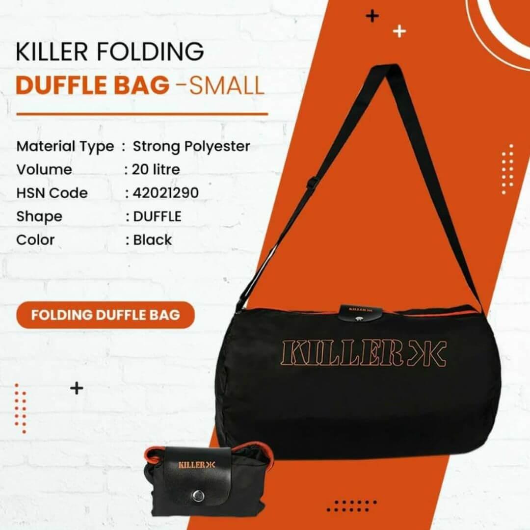 Killer Folding Duffle Bag- Small