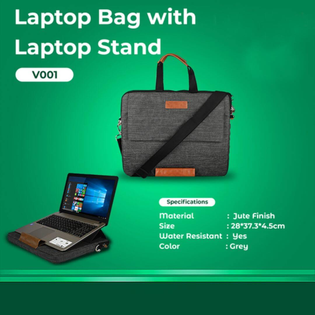 Laptop Bag with Stand