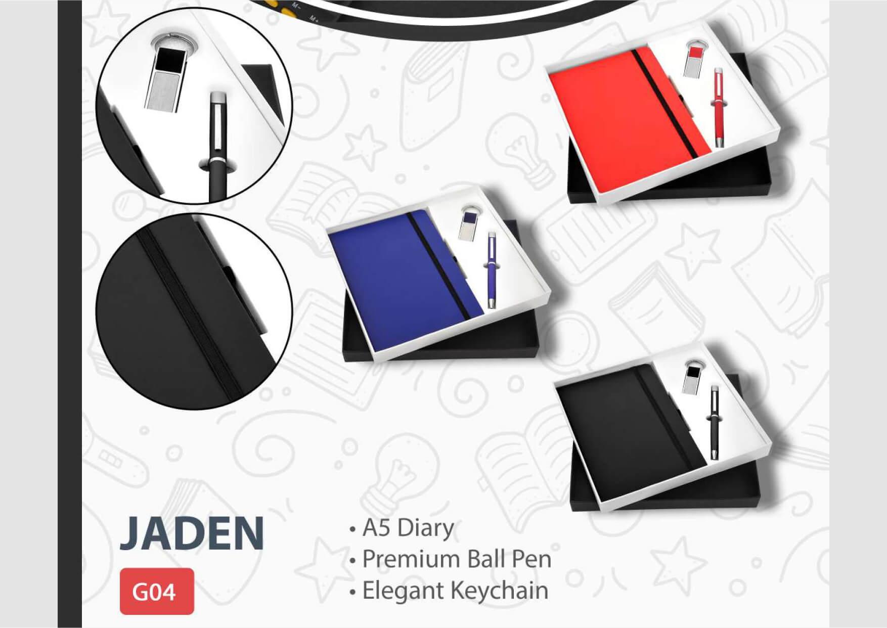 Diary Pen Keychain Jaden
