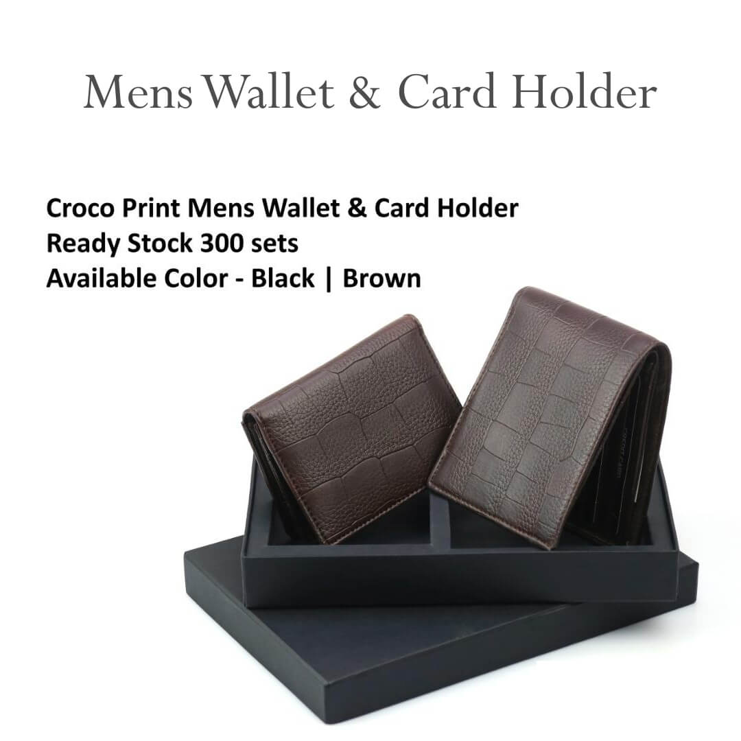 Mens Wallet and Card Holder